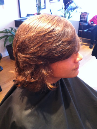 Boy's haircuts at Jamil Michael Salon